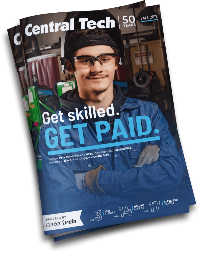 Central Tech course catalog for Fall 2019