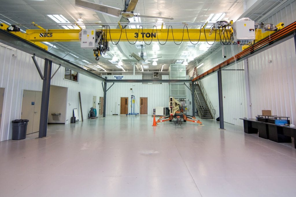 crane and rigger training location at Central Tech in Drumright Oklahoma