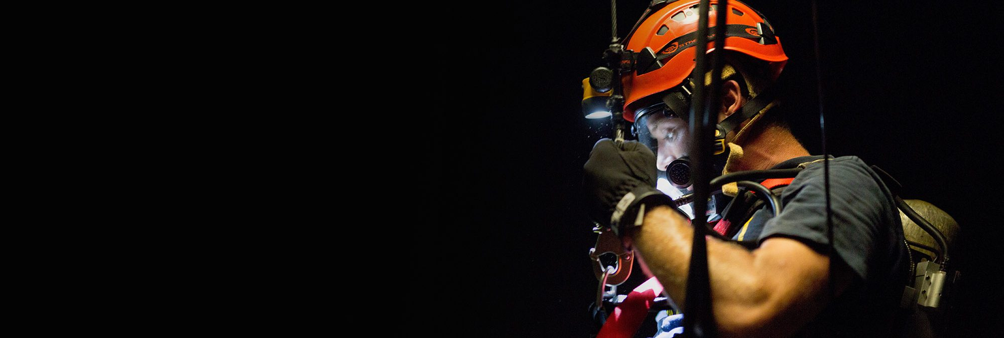 photo of a confined space rescue