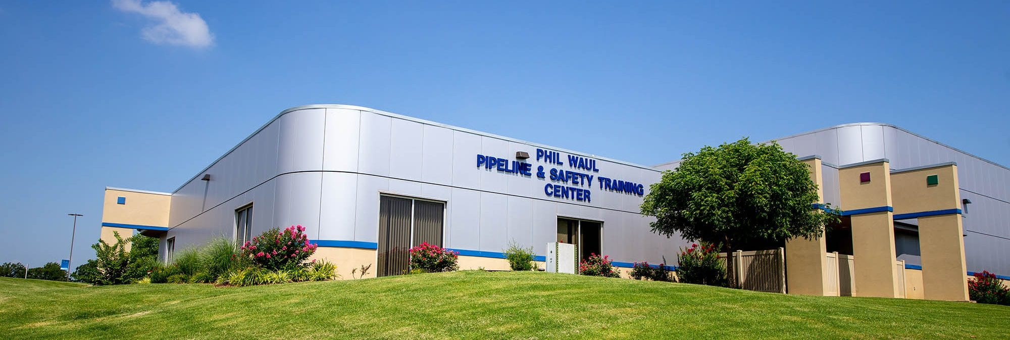picture of the Pipeline and Safety Training building at Central Tech