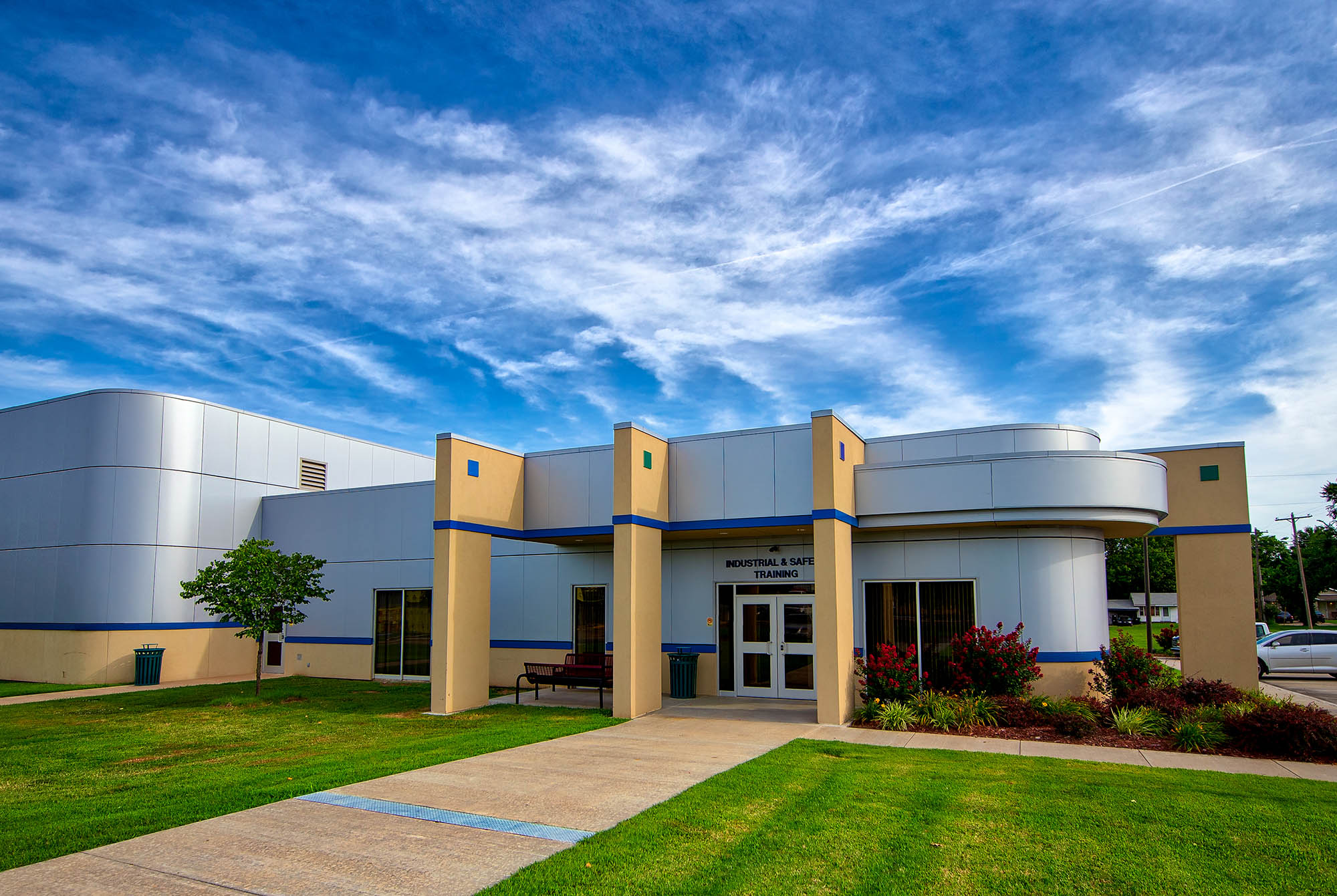Sapulpa Central Techs Industrial and Safety Training Building