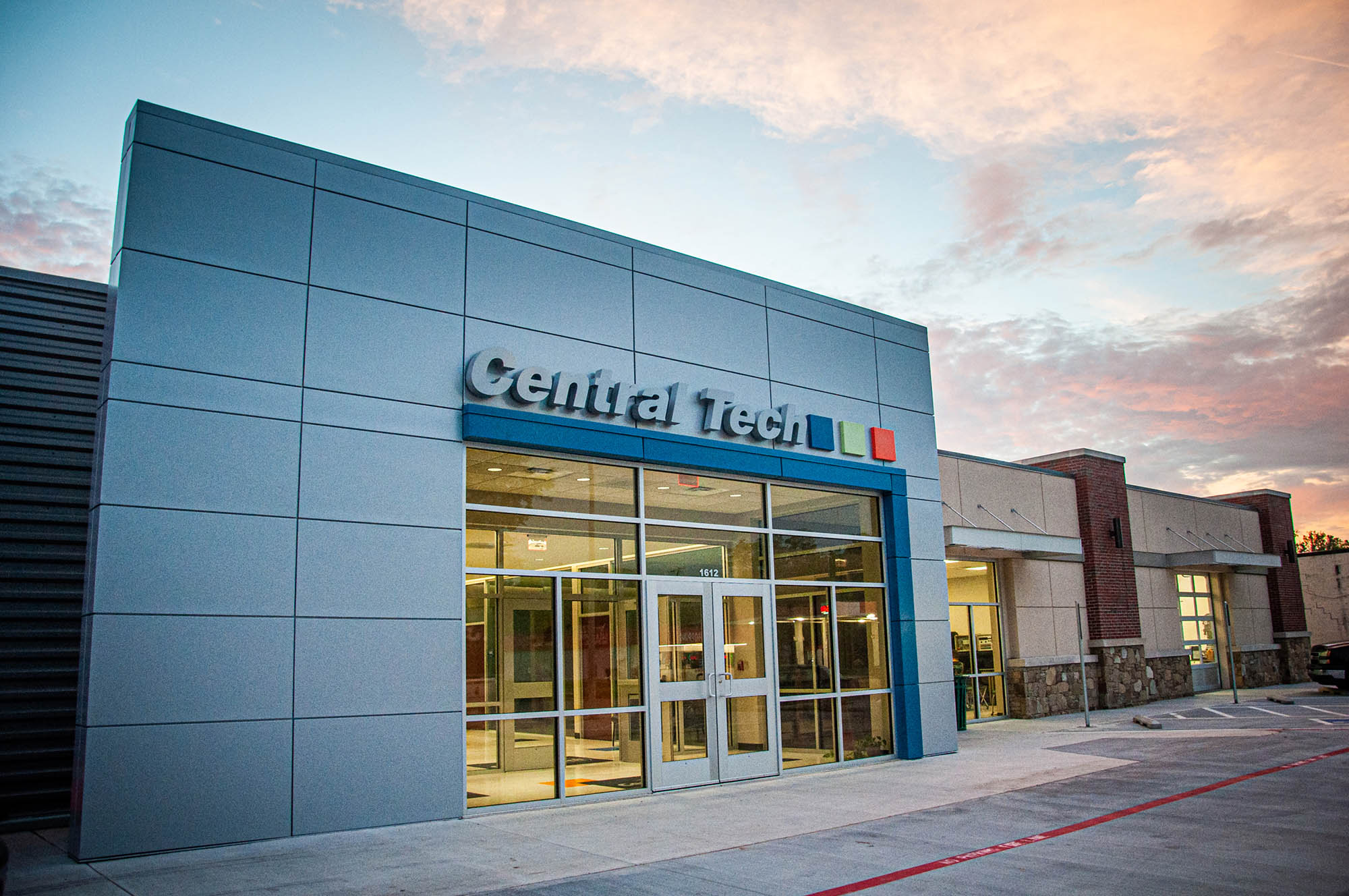Central Tech Business and Industry Services building in Sapulpa