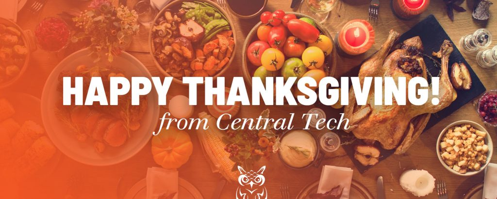 Happy Thanksgiving from Central Tech